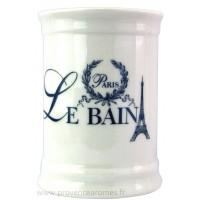 Pot salle de Bain déco PARIS LE BAIN