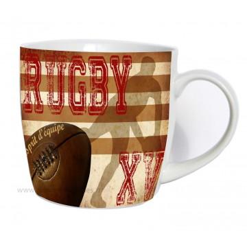 Mug déco RUGBY XV L'esprit d'équipe