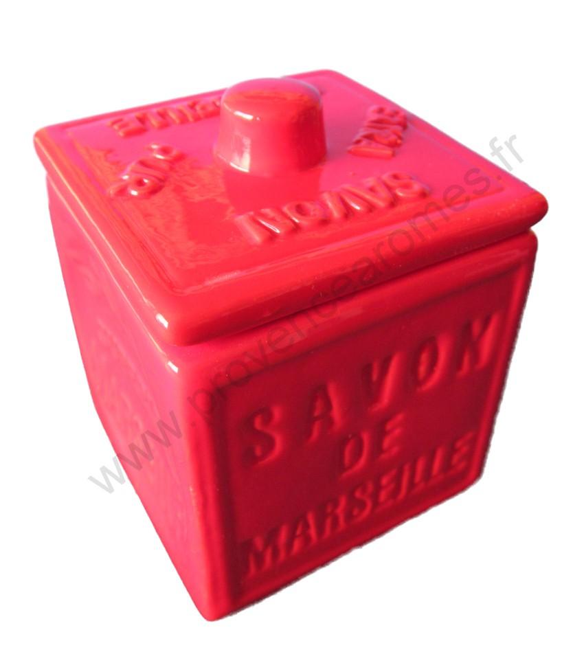 Accessoires déco savon de marseille cube traditionnel   provence ...