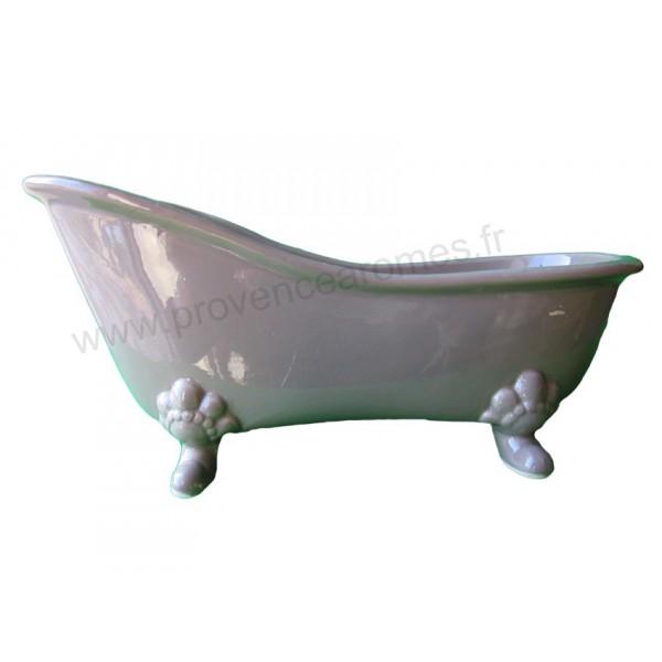 vide poche c ramique baignoire r tro couleur taupe provence ar mes tendance sud. Black Bedroom Furniture Sets. Home Design Ideas