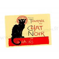 Set de table TOURNÉE DU CHAT NOIR de Rodolphe Salis