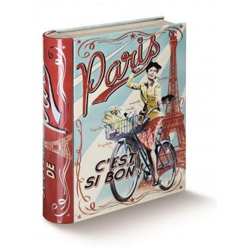 Boîte livre PARIS PAULETTE Natives déco rétro et vintage