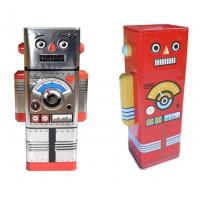 Tirelire ROBOT rétro vintage