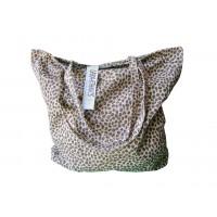 Grand sac coton panthère Lara Ethnics