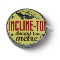 Mètre ruban rétractable INCLINE TOI Natives déco rétro et vintage