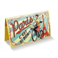 Porte chéquier PARIS PAULETTE Natives déco rétro vintage