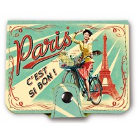 Porte-cartes PARIS PAULETTE Natives déco rétro vintage
