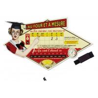 Magnet AU FOUR ET À MESURE Natives déco rétro vintage