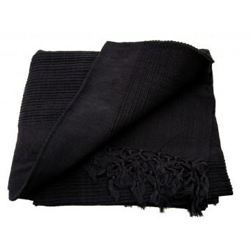 tenture k rala plaid couvre lit noir provence ar mes tendance sud. Black Bedroom Furniture Sets. Home Design Ideas