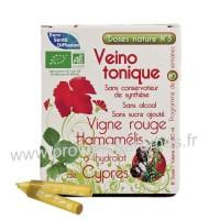 Veino tonique Vigne rouge Hamamélis et Cyprès Doses Nature n°3 Phytofrance
