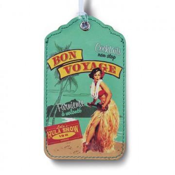Porte-étiquette Vahiné Natives déco rétro vintage