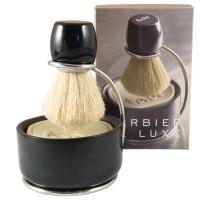 Coffret Barbier de Luxe accessoires et savon de rasage Tadé