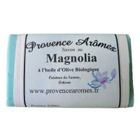 Savon magnolia à l'huile d'olive Bio de Provence Arômes