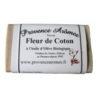 Savon Fleur de Coton à l'huile d'olive Bio de Provence Arômes