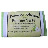 Savon pomme verte à l'huile d'olive bio de Provence Arômes