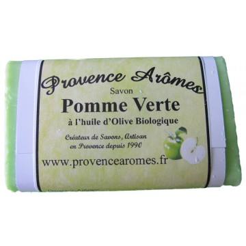 Savon pomme verte de Provence Arômes à l'huile d'olive bio
