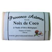 Savon noix de coco à l'huile d'olive Bio de Provence Arômes