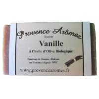 Savon Vanille à l'huile d'olive Bio de Provence Arômes