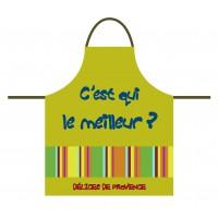 Tablier de cuisine pour enfant en coton vert C'est qui le meilleur?
