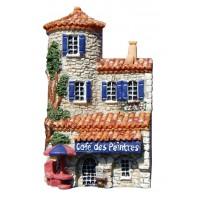 Magnet Café des Peintres Magnet en relief