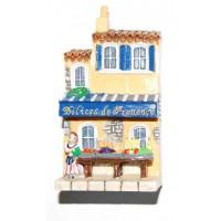 Magnet Épicerie Délices de Provence Magnet en relief