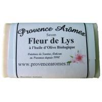 savon Fleurs de Lys à l'huile d'olive Bio de Provence Arômes