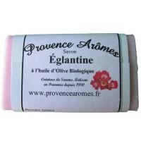 Savon à l'huile d'olive Bio Églantine de Provence Arômes