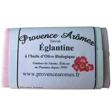 Savon Églantine à l'huile d'olive Bio de Provence Arômes