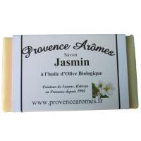 Savon jasmin à l'huile d'olive bio de Provence Arômes