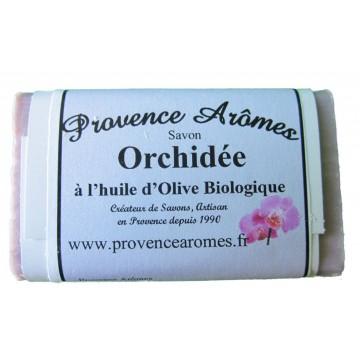 Savon ORCHIDÉE à l'huile d'olive Bio de Provence Arômes