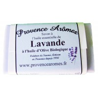 Savon lavande de Provence Arômes Savon à l'huile d'olive Bio