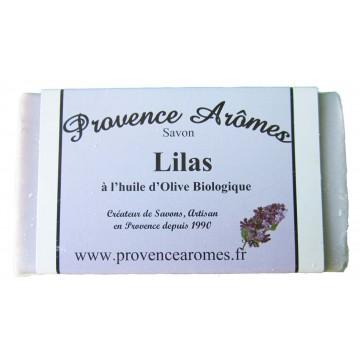 Savon LILAS à l'huile d'olive Bio de Provence arômes