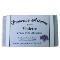 Savon VIOLETTE de Provence Arômes Savon à l'huile d'olive BIO