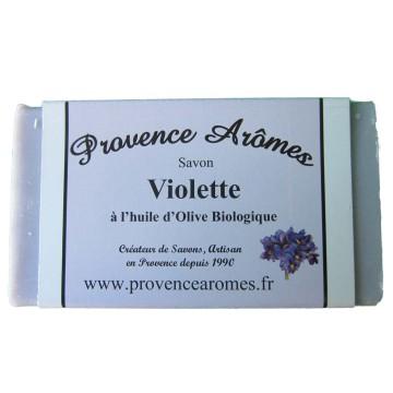 savon à l'huile d'olive BIO VIOLETTE de Provence arômes