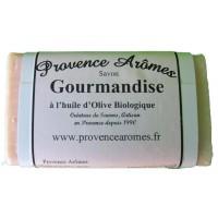 Gourmandise Savon à l'huile d'olive Bio de Provence Arômes