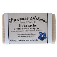 Savon à l'huile de Bourrache et Huile d'olive Bio de Provence Arômes