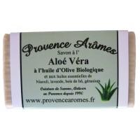 Savon à l'Aloé Vera et huile d'olive Bio de Provence Arômes