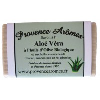 Savon Aloé Véra et huile d'olive Bio Provence Arômes