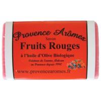 Savon Fruits Rouges à l'huile d'olive Bio Provence Arômes