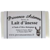 Savon au lait d'ânesse et huile d'olive Bio Provence Arômes