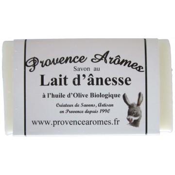 Savon au lait d'ânesse et huile d'olive Bio de Provence Arômes