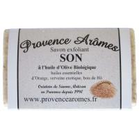 Savon Exfoliant au Son et huile d'olive Bio de Provence Arômes