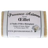 Savon oeillet à l'huile d'olive Bio de Provence Arômes