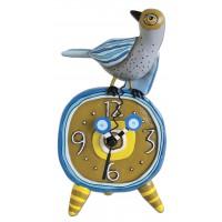 Horloge à poser oiseau déco originale rétro vintage designs