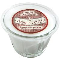 Bougie Pommes Cuites Bougie Gourmande collection Compoir de Famille