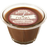Bougie Caramel Bougie Gourmande collection Compoir de Famille