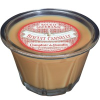 Bougie Biscuit Cannelle Bougie Comptoir de Famille collection Bougie Gourmande