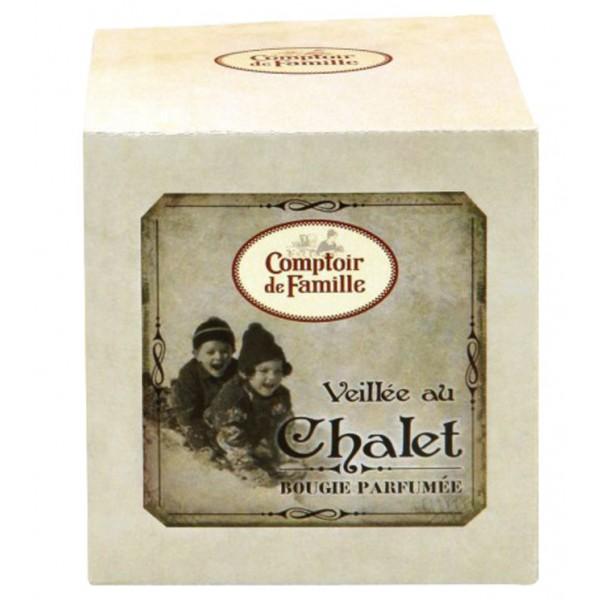 Bougie veill e au chalet comptoir de famille provence - Au comptoir des vaisselles ...