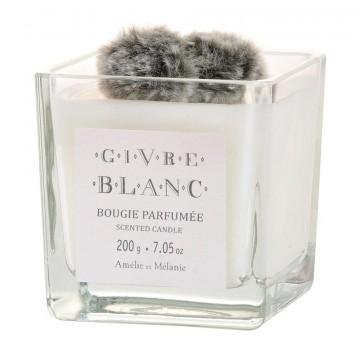 Bougie parfumée GIVRE BLANC Amélie et Mélanie de Lothantique