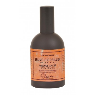 Brume d'oreiller ORANGE ÉPICÉE collection Lothantique
